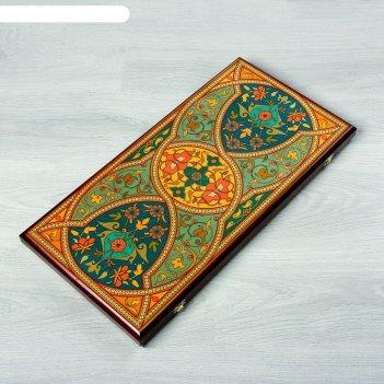 Нарды-шашки большие персидские 60х30х3,5 см