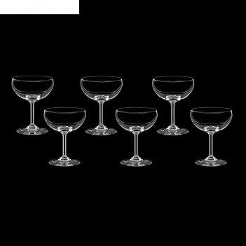 Набор бокалов для шампанского 6 шт классик 200 мл