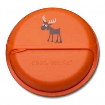 Ланч-бокс для перекусов snackdisc™ moose оранжевый