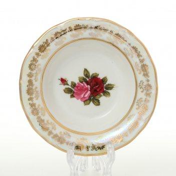Набор розеток carlsbad  фредерика роза перламутр 11 см