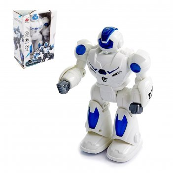 Робот миротворец, световые и звуковые эффекты, работает от батареек, цвета