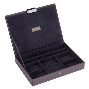 Lc designs 73156 универсальная плоская шкатулка для хранения украшений и а