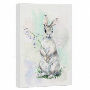 Постер лесная серия: заяц