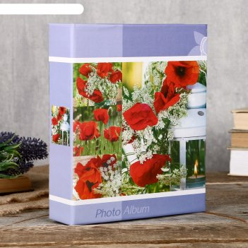 Фотоальбом fotografia на 200 фото, 10x15 см., цветы fa-pp200 - 309