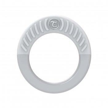Прорезыватель twistshake teether, цвет пастельный серый, 1+ мес