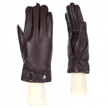 Перчатки мужские,натуральная кожа (размер 9.5) коричневый