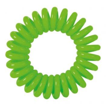 """Резинки для волос dewal beauty """"пружинка"""", цвет зеленый (3 шт.)"""