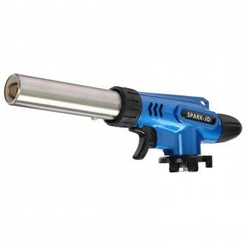 Горелка газовая с пьезоподжигом 8603, цвета микс