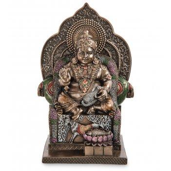 Ws-1113 статуэтка «кубера - индусский бог богатства»