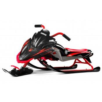 Детский снегокат yamaha apex snow bike (mg 2020 мягкое сиденье)) красный