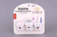 """Подставка для зубных щеток """"зуб"""" 16*7*6 см."""