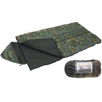 Спальный мешок богатырь кмф, 3-х слойный