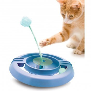 Игрушка petstages трек-неваляшка для кошек, 34 см