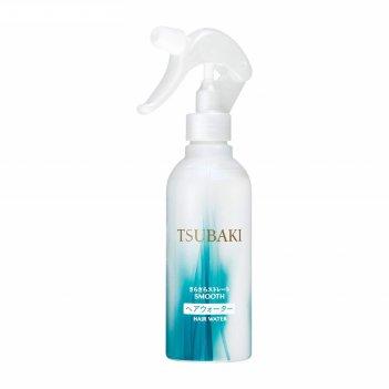 Разглаживающий спрей для волос shiseido tsubaki smooth с маслом камелии и
