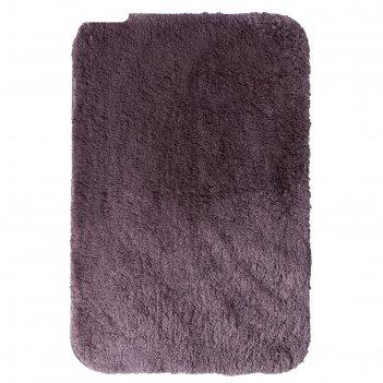 Коврик для ванной комнаты chic, цвет бежевый/коричневый, 60х90 см