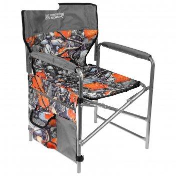Кресло складное кс1, 49 х 49 х 72 см, кленовые листья