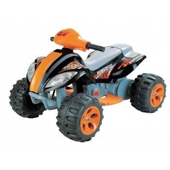 Электромобиль квадроцикл quatro b 03 powerful оранжево-черный