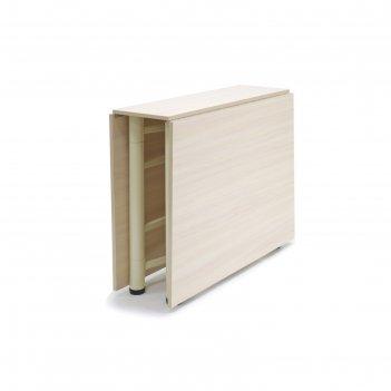 Стол-книжка new, 250(950/1650) x 800 x 750 мм, цвет молочный дуб