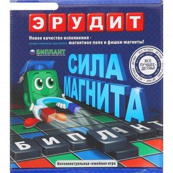 Игра настольная эрудит магнитный