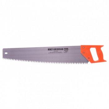Ножовка по дереву, 600 мм, шаг зубьев 12 мм, пластиковая рукоятка (ижевск)