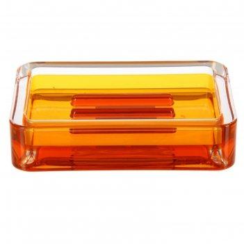 Мыльница float, цвет оранжевый