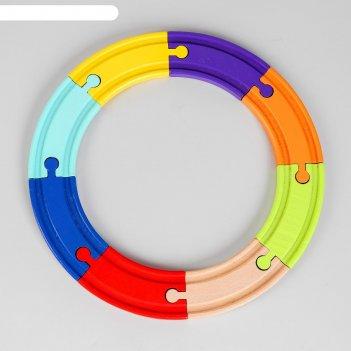 Рельсы 8 элементов 22,5x22,5x1,2 см