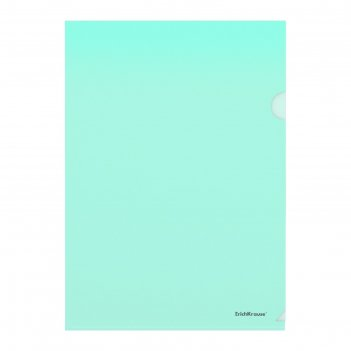 Папка-уголок а4 erichkrause glossy classic зеленая 50154