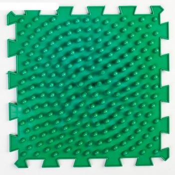 Детский массажный коврик   жёсткие шипы, цвет микс