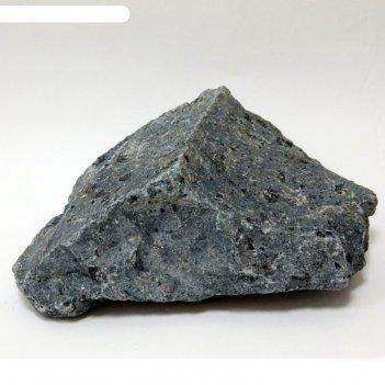 Камень для бани базальт, колотый, мешок 10кг