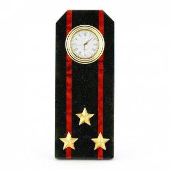 Часы погон полковник мп вмф камень змеевик