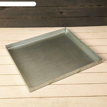 Поддон 44 x 40 x 2 см, металл