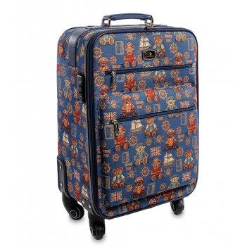 Henney-bear hl-009-p чемодан 60x38x26см, 3,7кг