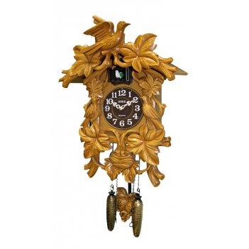 Настенные часы с кукушкой sinix 620b