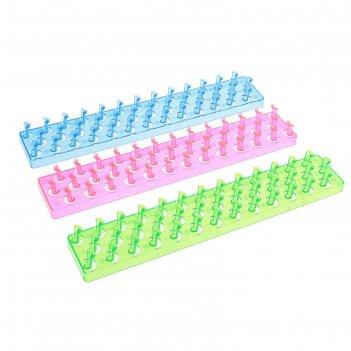 Пяльцы для плетения резиночками №7 микс
