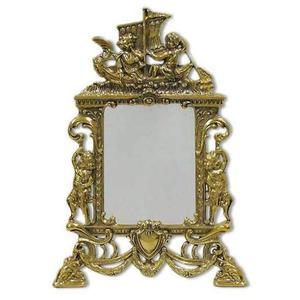 Зеркало настольное ладья
