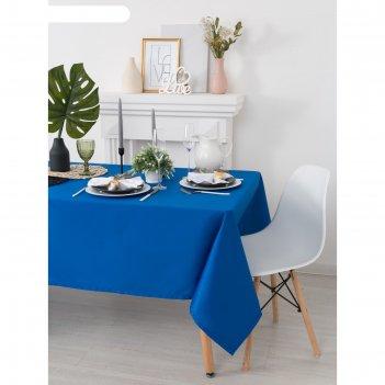 Скатерть «этель», размер 150х200 см, цвет синий