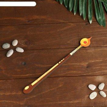 Сувенир деревянный волшебная палочка феи с огоньком