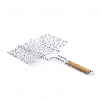 Решетка гриль для стейка, 69 х 45 х 3 см