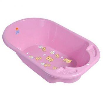 Ванна детская bears дельфин розовый 2904la-вв-нк-rs