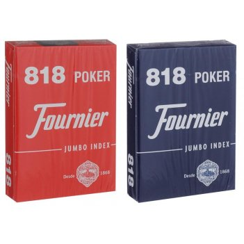 Карты fournier 818 red/blue
