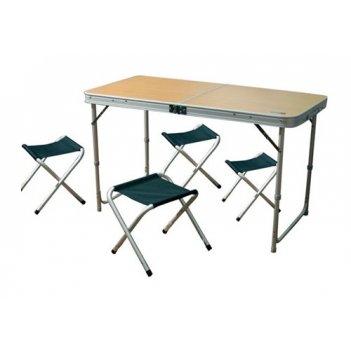 Стол походный cw convert table с комплектом стульев 4шт