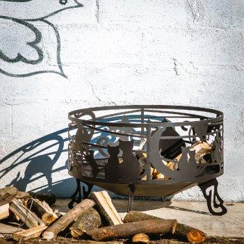 Чаша для костра на дачу fire   flame кошкин дом, уличное оборудование