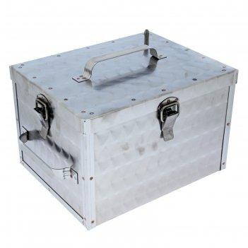 Коптильня домашняя магарыч  морозко 14 л малая,2 яруса,на защелках