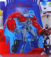 Постельное белье 1,5сп mona lisa disney transformers на синем 145*210 см,