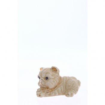 Фигурка декоративная собачка, 6х4,5х5 см, 3 в (без инд.упако...