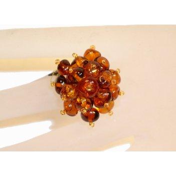 Изделия из янтаря - кольцо янтарное