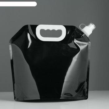Фляжка для воды 3 л, pet, мягкая 24х25.5 см