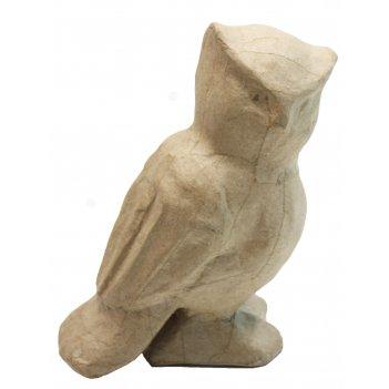 Фигурка сова из папье-маше, 14 х 8.5 х 20 см