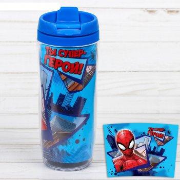 Термостакан ты супер-герой!, человек-паук, 350 мл