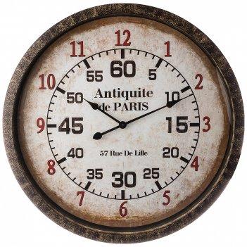Часы настенные кварцевые antiquite de paris диаметр=67 см  (кор=3 шт.)